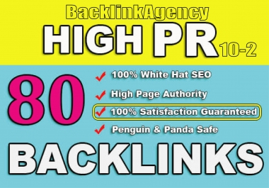 premium 80 pr9 to pr3 seo dofollow backlinks