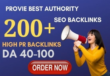 premium 200 high pr seo service authority backlinks,link building