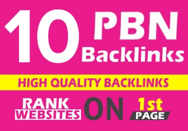 Build 10 Manual DoFollow PBNs Home Page TF CF DA PA Backlinks