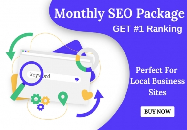 monthly SEO service, high quality backlinks
