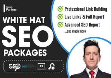350 white hat SEO backlinks for google top ranking