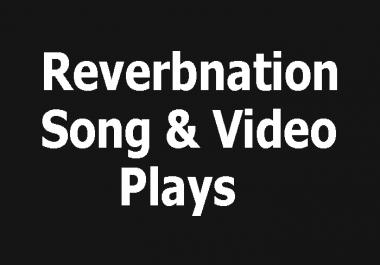 Buy Reverbnation 5000+ Song or Video Listener or 100+Reverbnation Fan Life time guranteedrs
