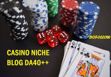 Do 10 Casino.Poker.Gambling Related Dofollow Niche Themed Blog Commenting