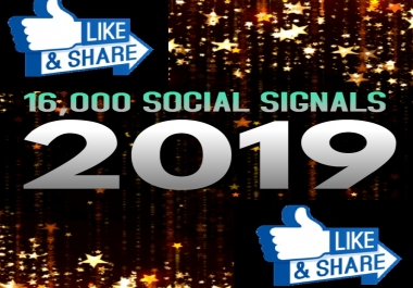 TOP 16,000 SOCIAL SIGNALS With NUCLEAR SEO