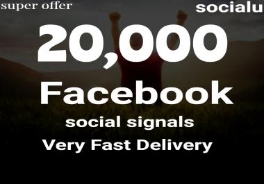 TOP No1 Social Media Best 20,000 SOCIAL SIGNALS With NUCLEAR SEO