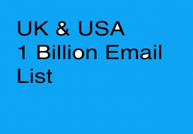 USA and UK 100 Million Business email list