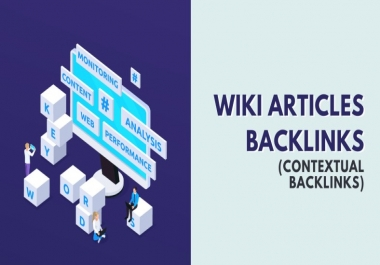 500 Wiki articles contextual backlinks