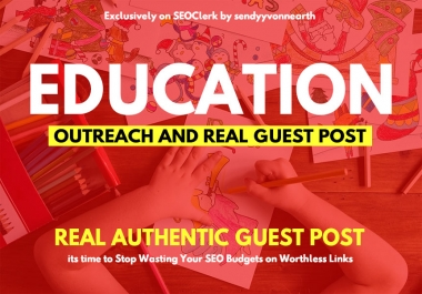 Write and Publish Guest Post On Education Blog Site