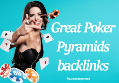 999+ Poker/Casino/Gambling PBN Pyramids backlinks Super Boost for SERP and SEO ranking