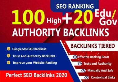 Latest And Manually 100 Pr9 + 20 Edu-Gov High Domains Authority Safe Seo Backlinks- White Hat SEO