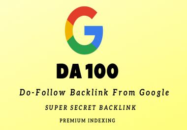 DA100 Dofollow Backlink From Google.com