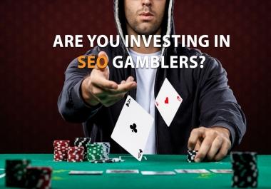 make 500 Poker Online SEO Link building Unique Domain Backlinks
