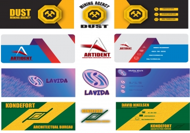 I will design professional business card for your business