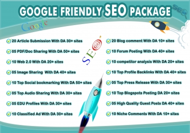 Get Your Result - Google Friendly Seo Package Guaranteed Results Or Money Back