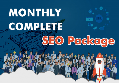 Whitehat SEO Monthly Package Gig For Google Top Ranking