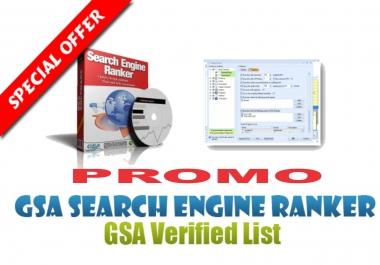 PROMO 500k+ GSA SER Fresh Lists Auto-Approve Link Latest SEO