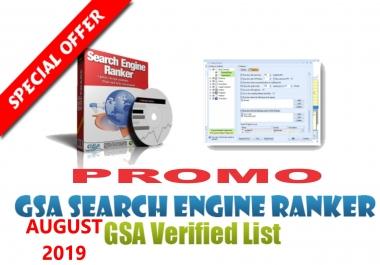 PROMO 500k+ GSA SER Fresh Lists Auto-Approve Link 2019 SEO