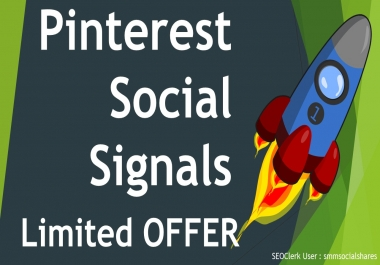 Express Delivery 15,000 Pinterest Share Social Signals Important For SEO Ranking