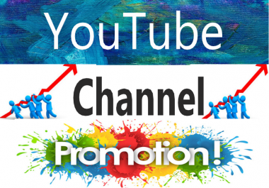 Give You Organic YouTube Chanel Promotion Manually and fast Given