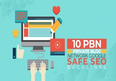 10 Manual Pbn High Metrics Backlinks
