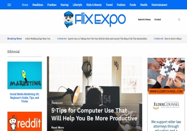 Publish A Guest Post On Flix Expo