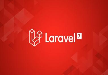 Web development with PHP/Laravel and Mysql/Sqlite