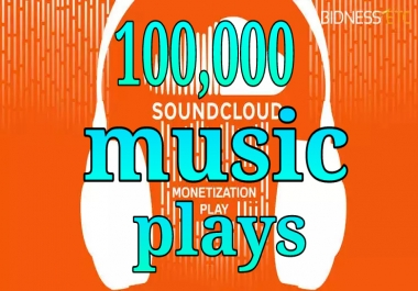 100k music promotion fast delivery within 24 hours