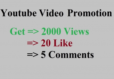 Boost Your Youtube Video for Promotion