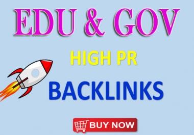 Manually Create 100 Edu-Gov Seo Backlinks for Google Ranking
