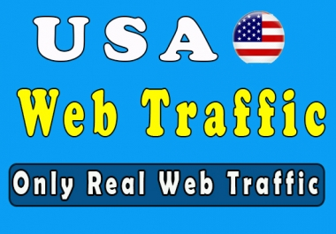 20K Real and Organic website traffic from USA Targeted for 30 days