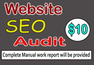 review website and provide a complete detailed SEO report