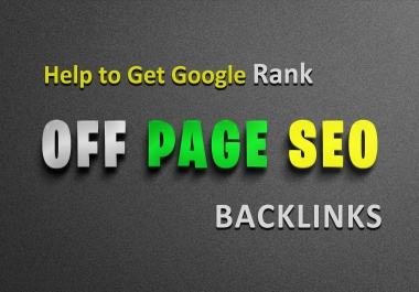 N0. 1 Google Ranking -- Off Page SEO Backlink PACK -- trusted links - White hat SEO link plan