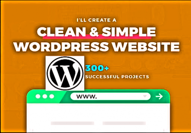 Build a WordPress Web Site For Your Niche Related