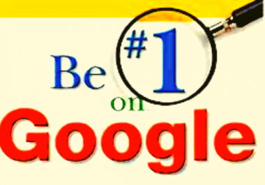 Boost your ranking on google 1st page in 1 keyword