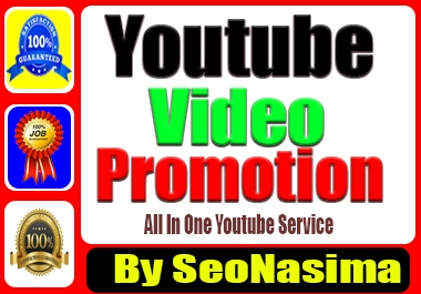 Youtube Marketing Promotion Via Real User&non Drop