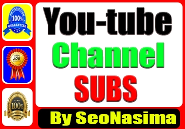 Youtube promotions seo pack and social media marketing