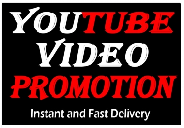 Organic YouTube video promotion Marketing to Rank your video