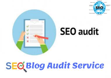 Complete Website or Blog Audit