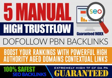 Do 5 Homepage DA 20+ PBN Backlinks - With UNIQUE Content