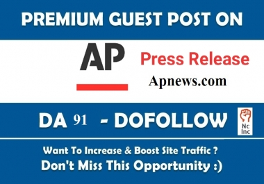 Guest Post in Apnews.com Press Release Post