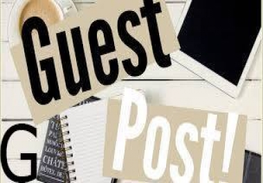 50 Guest Post Blog Rank You Website Within 2 Weeks