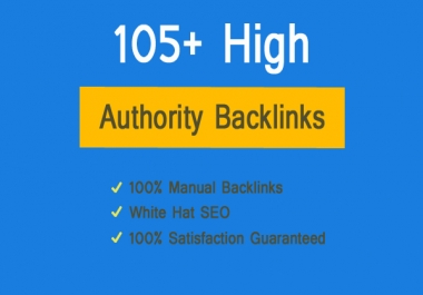 [Exclusive SEO Pack] 105+ High Authority Backlinks To Boost Google Ranking