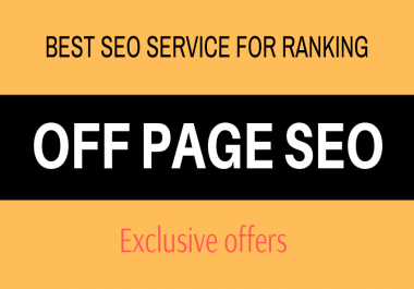 Exclusive SEO Pack - Boost Google Ranking With The Best Off Page SEO Service