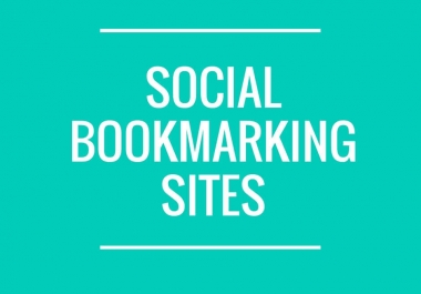 Manual 20 Dofollow Social Bookmarks Backlinks For improved Your Web traffic & Boost Ranking