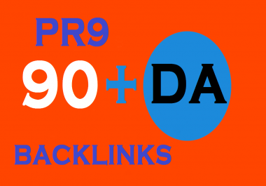 90+ DA PR9 Quality Google Safe 40 Permanent LIVE Backlink Manually Create for Help to get Google Top