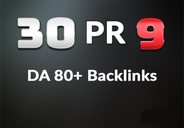 Manually Done 30 PR9 DA 80+ SEO Authority Profile Backlinks - Skyrocket your Google RANKING