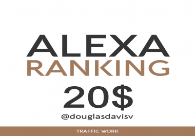 Alexa Ranking - Make your Alexa rank under 99,999