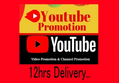 Organic Fast,nondrop Youtube Video Promotion and seo marketing