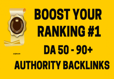 Boost your website ranking with high authority 30 - 300 social backlinks