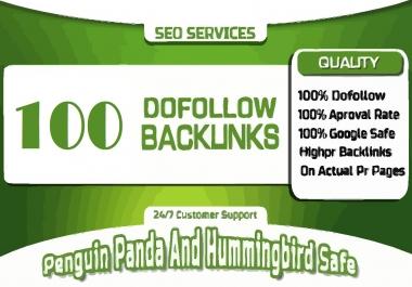 100 Social & Blog Mix Dofollow Backlinks